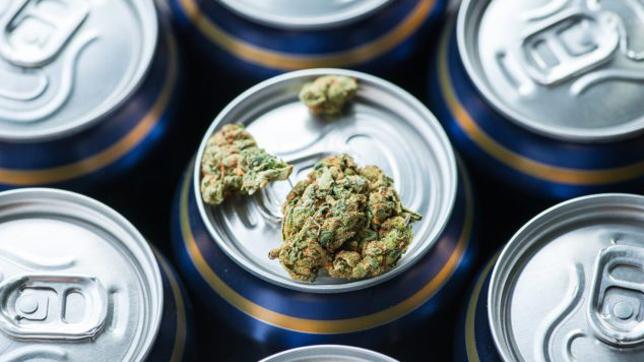 Vamos tomar uma cerveja com infusão de cannabis?