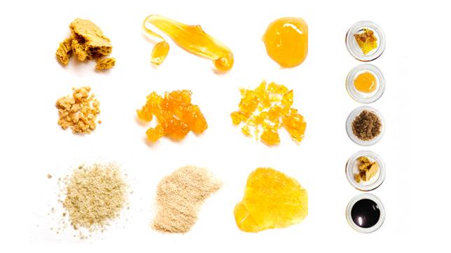 Extrações da Cannabis