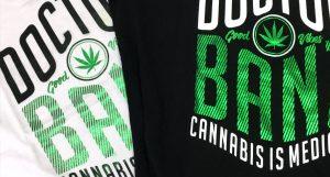 Camiseta Cannabis is Medicine
