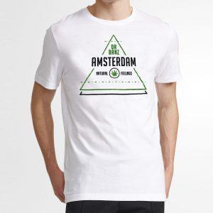 T-Shirt-Amsterdam-Branca
