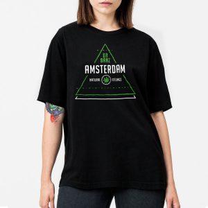 T-Shirt-Amsterdam-Preta