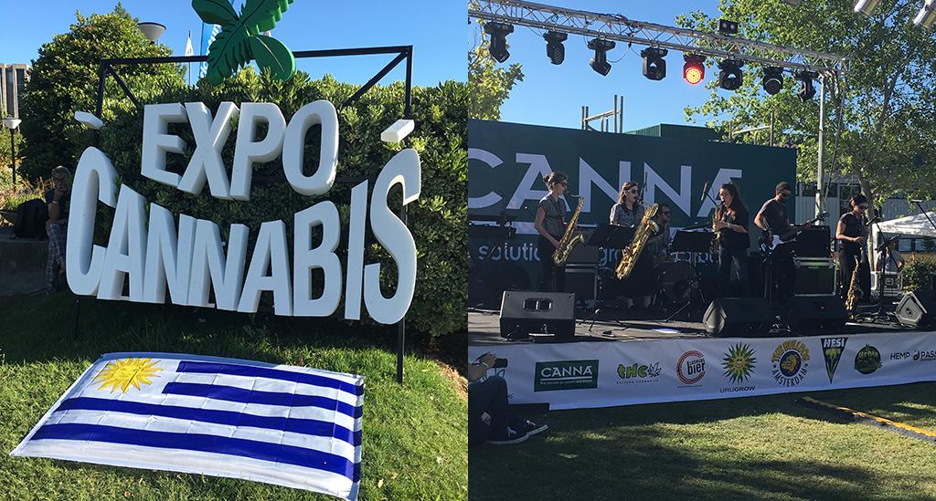 Dr Banz Expo Cannabis Uruguay 2018