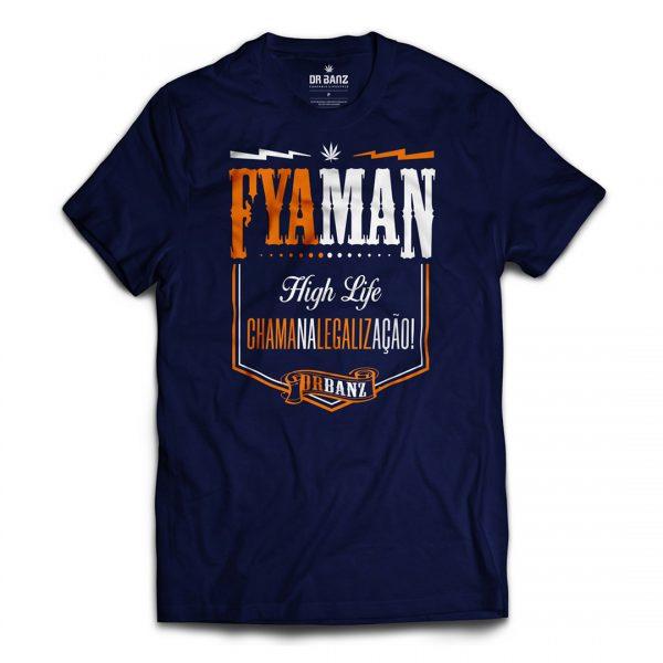 Fyaman Collection - Legalização - Camiseta